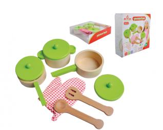 סט כלי מטבח ירוק פיט טויס PIT TOYS