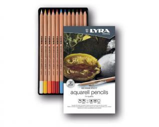 עפרונות אקוורל 12 יח' LYRA REMBRANDT AQUARELL