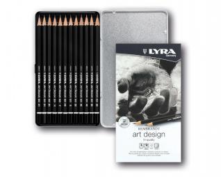 סט 12 יח' עפרונות שרטוט LYRA REMBRANDT ART DESIGN
