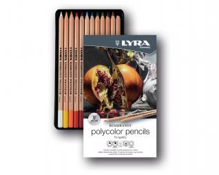 עפרונות פוליקולור 12 יח' LYRA REMBRANDT POLYCOLOR