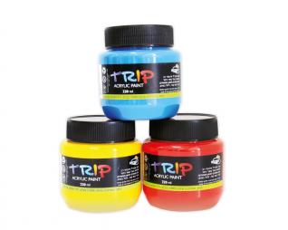 """צבע אקריליק 220 מ""""ל TRIP"""