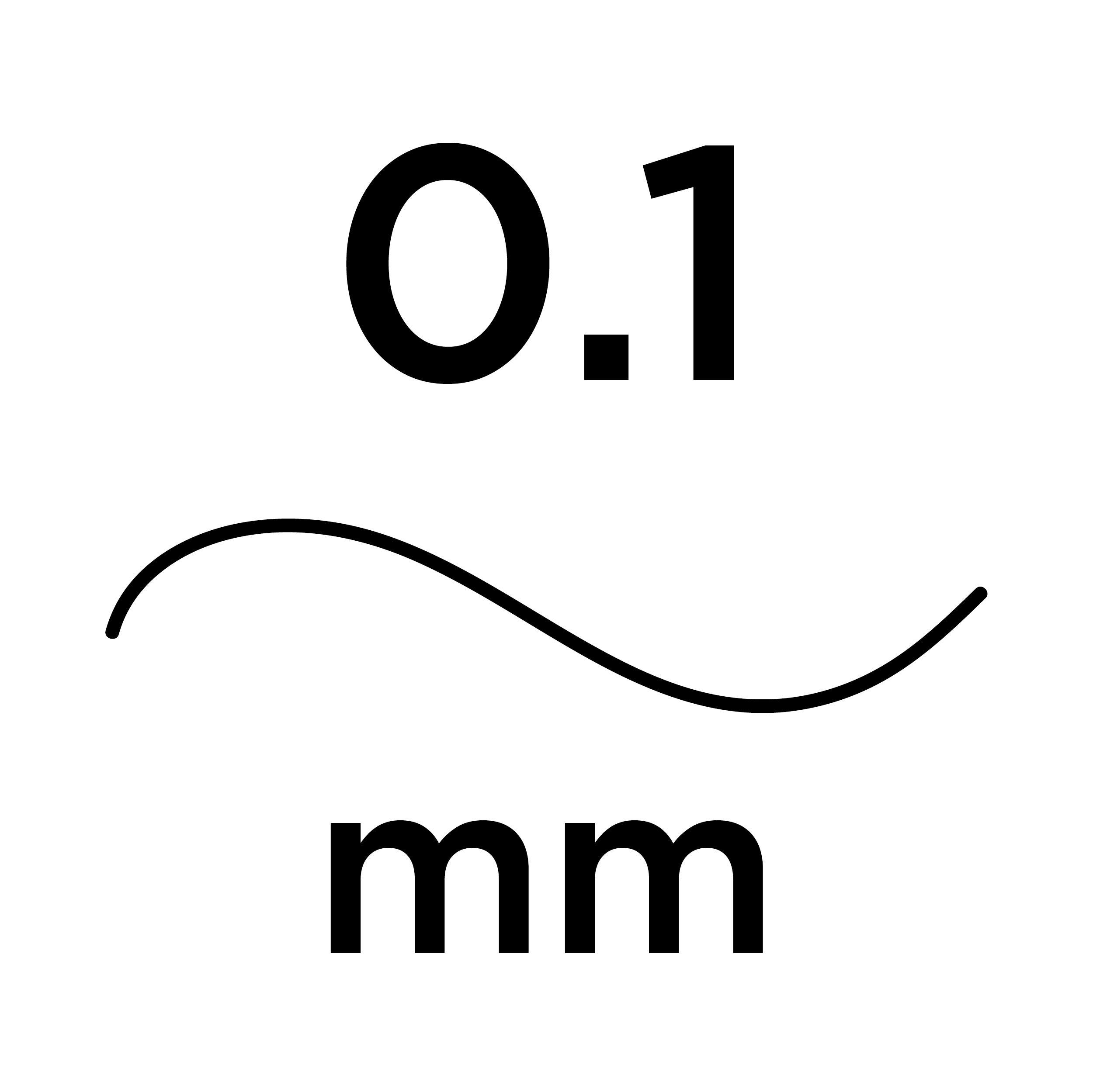 0.1mm