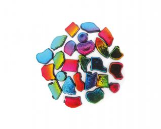 אבני מוזאיקה גווני קשת מגוון צורות סופרקיט