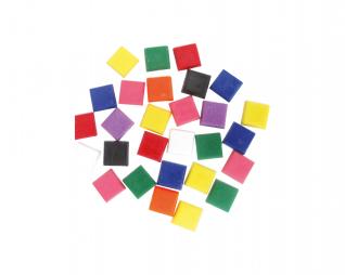 אבני מוזאיקה אטום צבעוני מרובע סופרקיט