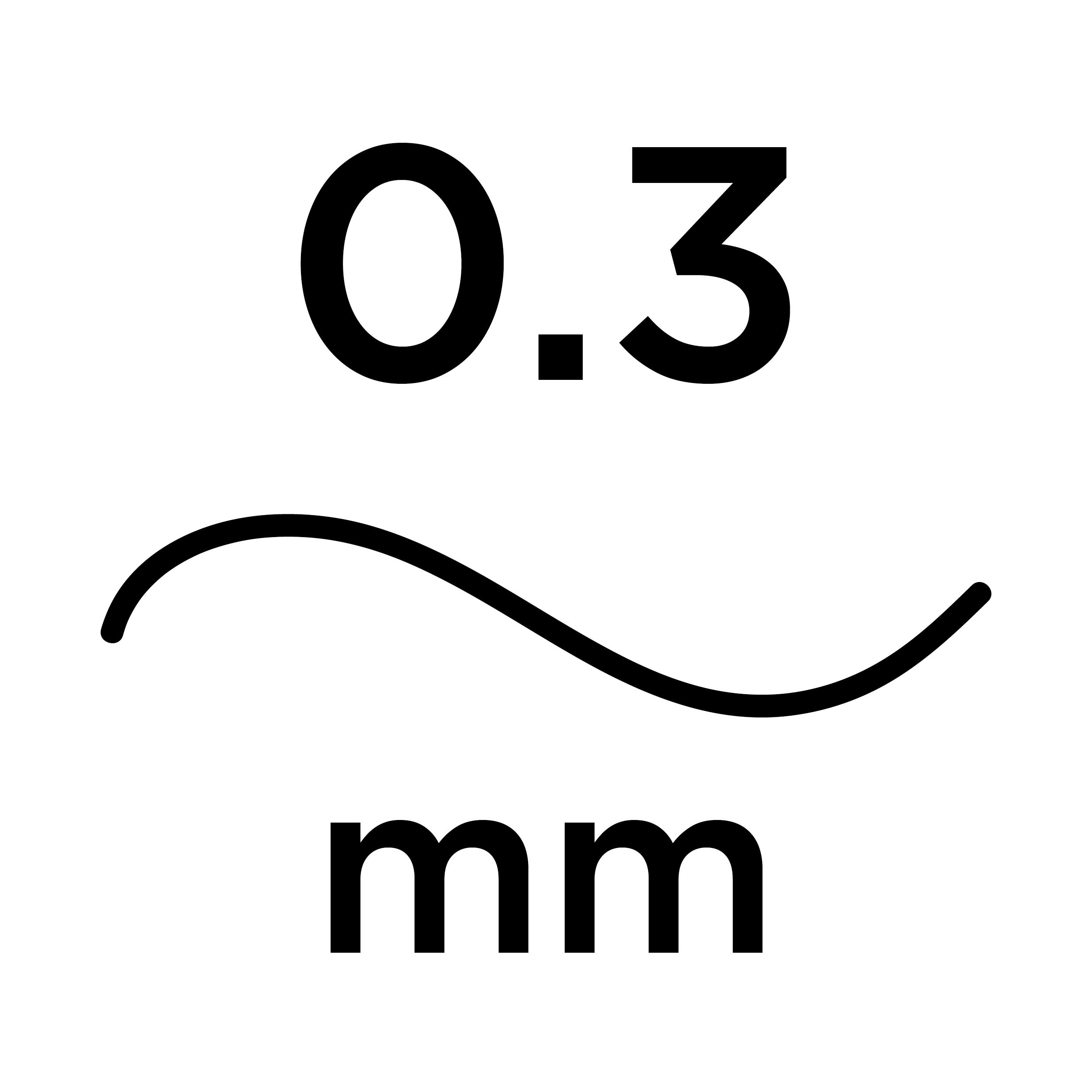 0.3mm