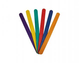 מקלות ארטיק צבעוני 135 יח' סופרקיט