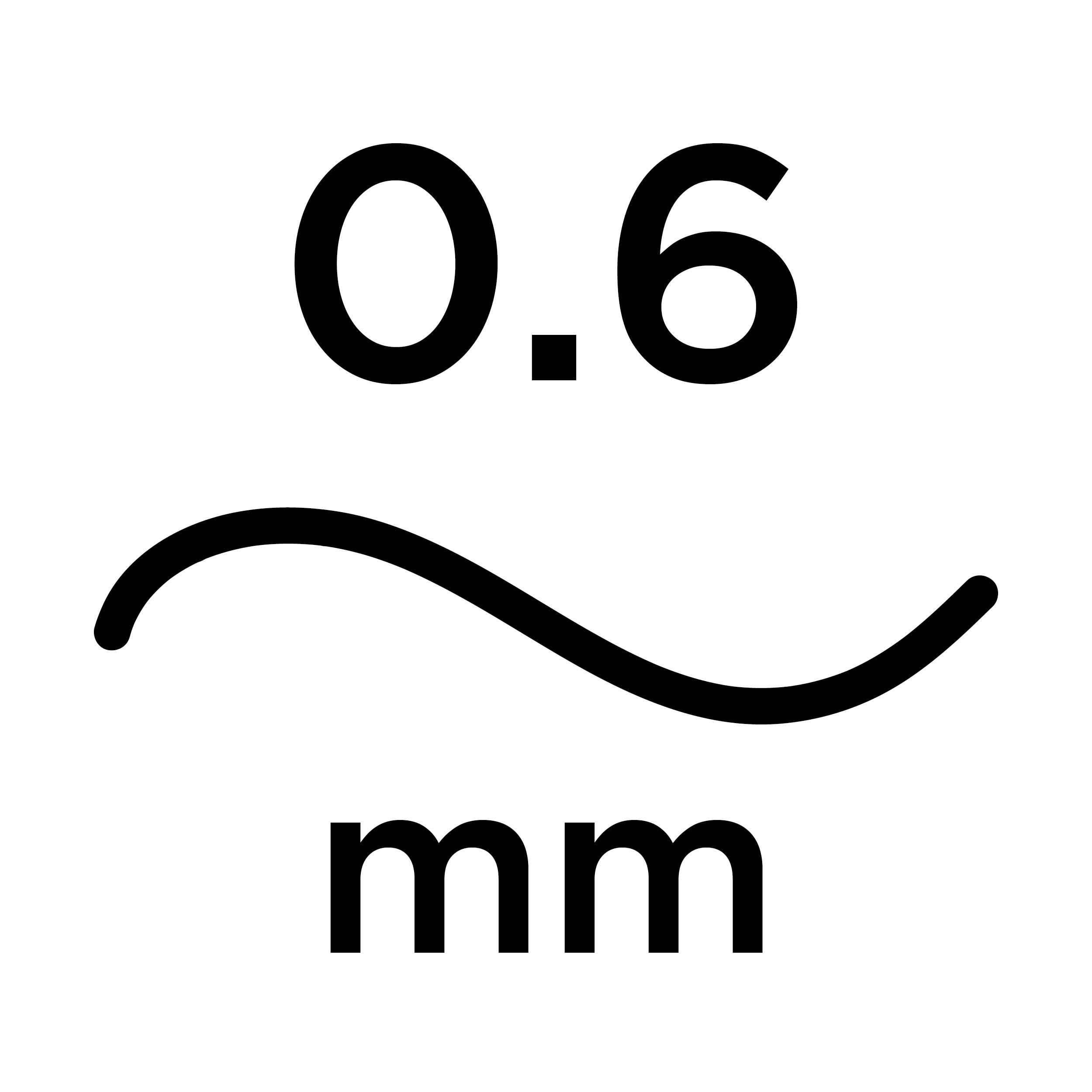 0.6mm