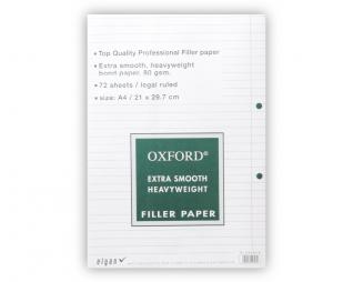 דפדפת עבה שורה OXFORD A4
