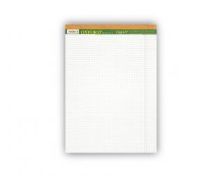 בלוק כתיבה לבן משובץ OXFORD A5