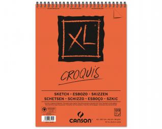 בלוק ציור קנסון ספירל סקיצה CANSON XL CROQUIS