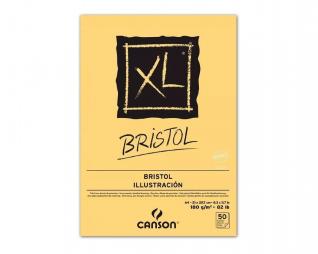 בלוק ציור ספירל בריסטול CANSON XL BRISTOL