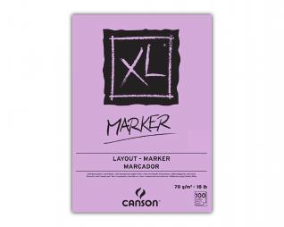 בלוק ציור ספירל מרקר CANSON XL MARKER