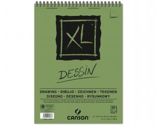 בלוק ציור ספירל דיזיין CANSON XL DESSIN
