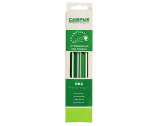 עפרונות 12 יח' CAMPUS HB2