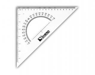 סרגל משולש זווית 30/45 LINERO