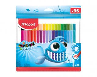 צבעי טוש 36 יח' MAPED OCEAN