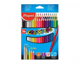 עפרונות צבעוניים 36 יח' MAPED