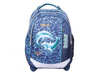 תיק קל גב דולפינים KAL-GAV X BAG DOLPHINS