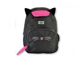 תיק חתול שחור זנב פייטים IN WAY SPEED