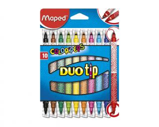 צבעי טוש דו צדדי MAPED DUO TIP