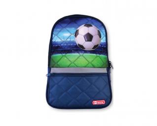 תיק מגרש כדורגל כחול SBS LUCKY