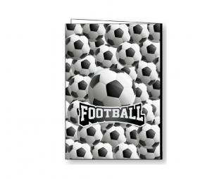 מארז 10 עטיפות כדורגל למחברת LOOPY A5