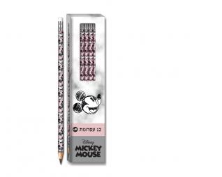 מארז 12 עפרונות MICKEY HB