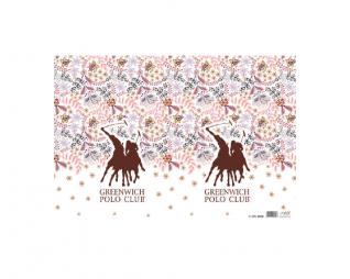 מארז 10 עטיפות לספר למינציה 35/50 פולו פרח בורדו