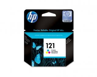 ראש דיו צבעוני מקורי HP 121