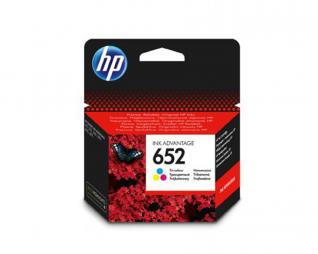 ראש דיו צבעוני מקורי HP 652