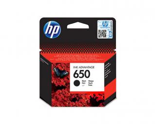 ראש דיו שחור מקורי HP 650
