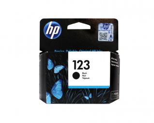 ראש דיו שחור מקורי HP 123