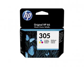 ראש דיו צבעוני מקורי HP 305