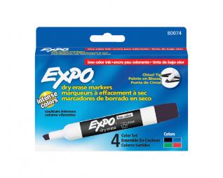 סט 4 טוש מחיק אקספו EXPO