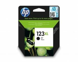 ראש דיו  שחור מקורי HP 123XL
