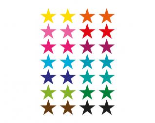 מדבקות מיקס כוכבים 20 דף SEART