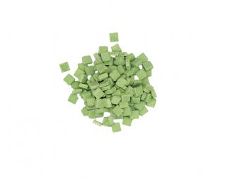 """פסיפס ירוק דשא 1 ק""""ג צנצנת"""