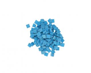 """פסיפס כחול ים 1 ק""""ג צנצנת"""