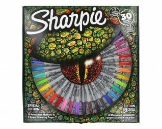 סט טוש שרפי 30 צבעים פרמננט SHARPIE permanent