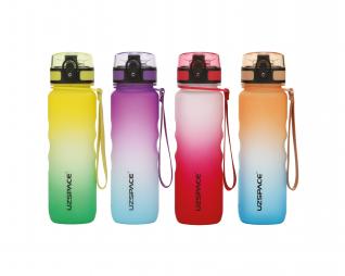 """בקבוק אקרילי  500מ""""ל   ION ENERGY מעבר צבעים"""