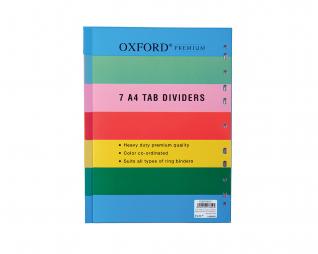 חוצצים פלסטיק 7 יח' אוקספורד OXFORD