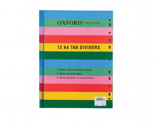 חוצצים פלסטיק 12יח' אוקספורד OXFORD