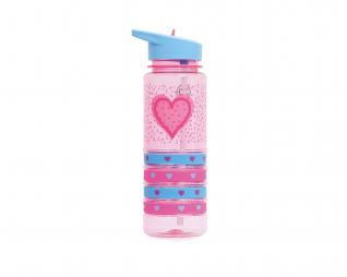 בקבוק צמידים לבבות HEARTS