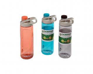 """בקבוק פלסטיק איכותי 750 מ""""ל CAMPUS"""